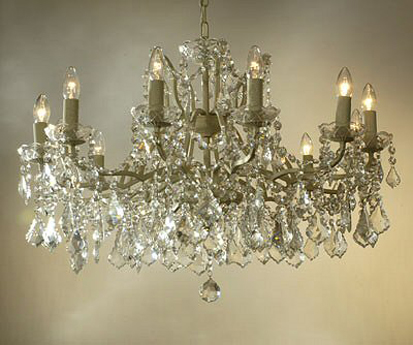 Marie Therese Crystal Chandelier 62cm by 84cm 12 light 10kg