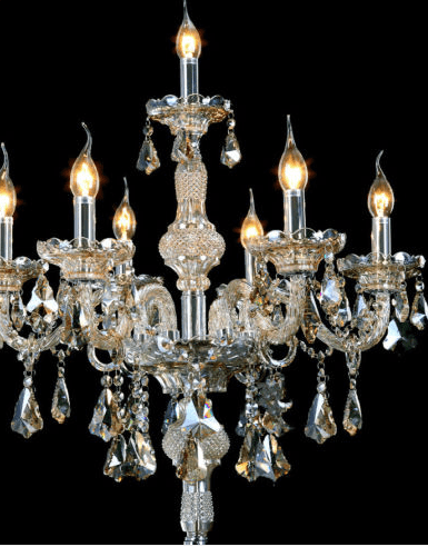 Floor standing chandelier for hire