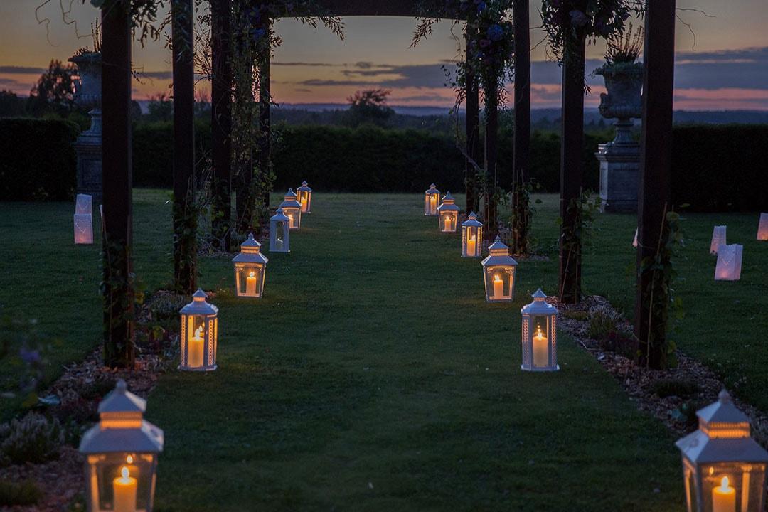 Lantern walkway